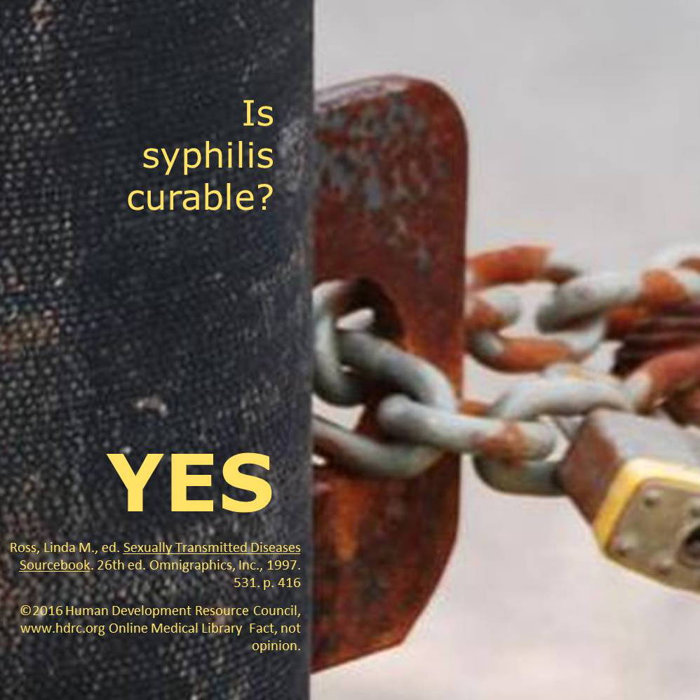can you die from syphilis